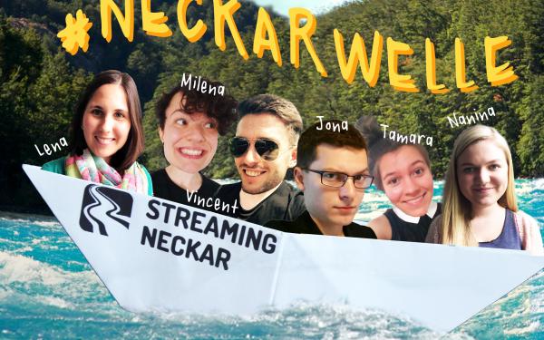 Neckarwelle Collage