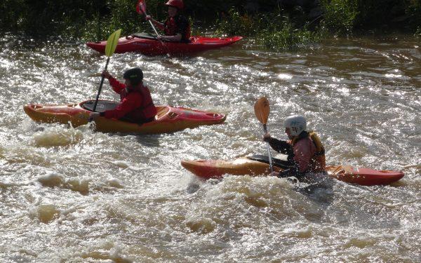 Des Neckars stürmische Seite: Wildwasser