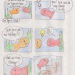 Fisch + Treppe = ???